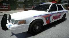 Ford Crown Victoria Woodville Police 2011 para GTA 4