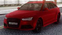 Audi RS6 Avant Red para GTA San Andreas