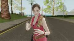 Claire Redfield Classic Suit RE2 Remake para GTA San Andreas