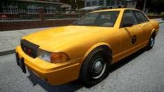 Vapid Stanier Modern Taxi para GTA 4