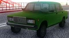 2107 Verde Limousine para GTA San Andreas