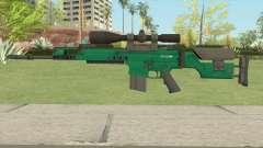 CS-GO SCAR-20 (Emerald Bravo Skin) para GTA San Andreas