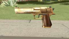 Desert Eagle Gold GTA IV para GTA San Andreas