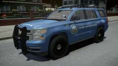 Chevrolet Tahoe US NAVY Military Police para GTA 4