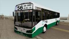 Linea 56 Todobus Pompeya II Agrale MT15 Interno para GTA San Andreas