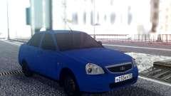 VAZ 2170 Sedan Azul para GTA San Andreas
