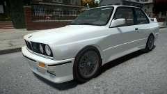 BMW M3 E30 Stock Rims para GTA 4