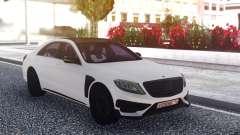 Mercedes-Benz B850 W222 White para GTA San Andreas