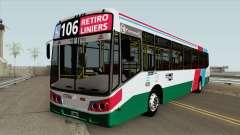 Linea 106 Todobus Pompeya II Agrale MT17 Interno para GTA San Andreas