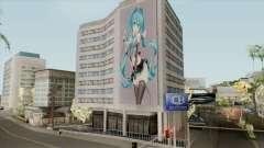 Graffiti Hatsune Miku para GTA San Andreas