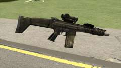 Contract Wars SCAR-H para GTA San Andreas