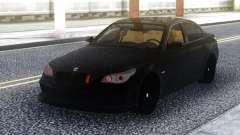 BMW M5 E60 Black Stock para GTA San Andreas