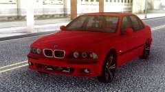 BMW E39 Stock Red para GTA San Andreas