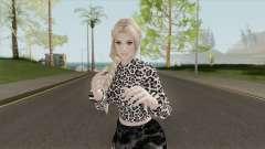 Helena Casual Black Skirt para GTA San Andreas