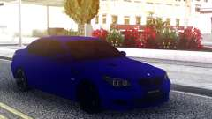 BMW M5 E60 Blue Sedan para GTA San Andreas