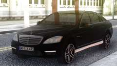 Mercedes-Benz S65 AMG 2012 Black para GTA San Andreas