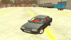 VAZ 21099 salão Vermelho para GTA 4