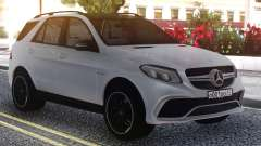 Mercedes-Benz GLE 63s FIX Gray para GTA San Andreas