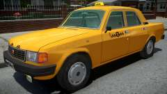 GAZ-31029 Táxi Amarelo para GTA 4