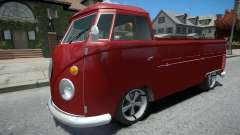 Volkswagen Kombi Pick-Up para GTA 4