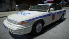 Ford Crown Victoria Moscow Police 1995