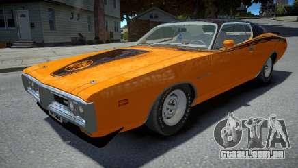 Dodge Charger Super Bee 1971 para GTA 4