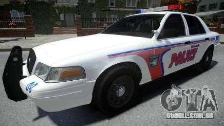 Ford Crown Victoria Woodville Police 2011 para GTA 4