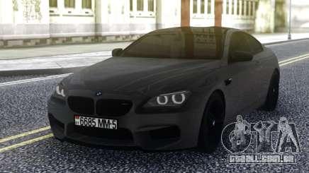 BMW M6 Grey para GTA San Andreas