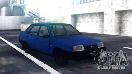 VAZ 21099 Sedan Azul para GTA San Andreas