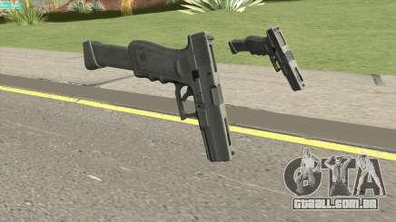 Contract Wars Glock 18 Extended para GTA San Andreas