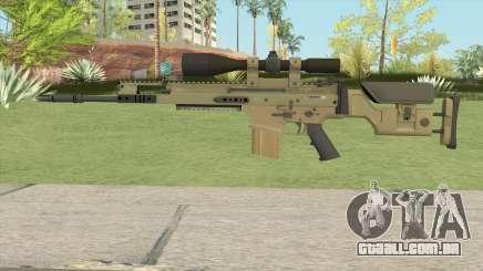 CS-GO SCAR-20 (Default Skin) para GTA San Andreas