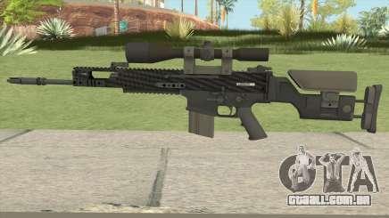 CS-GO SCAR-20 (Carbon Fiber Skin) para GTA San Andreas