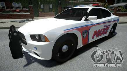 Dodge Charger Woodville Police 2014 para GTA 4