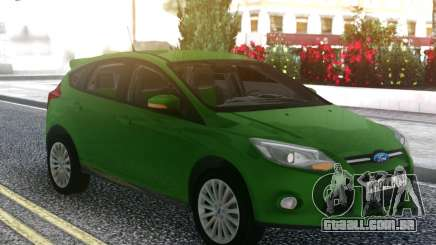Ford Focus 3 Hatchback para GTA San Andreas