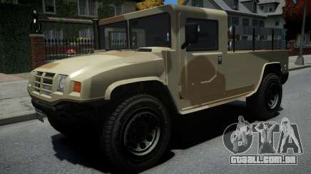 Mammoth Patriot Millitary para GTA 4