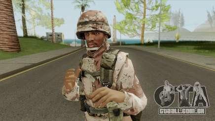 CJ Traje De Milita para GTA San Andreas