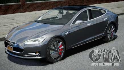 Tesla Model S P90D 2016 para GTA 4