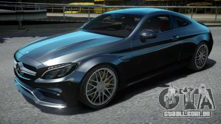 Mercedes-Benz C63S AMG Coupe 2017 para GTA 4