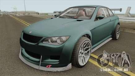 Ubermacht Sentinel XS Custom GTR GTA V IVF para GTA San Andreas