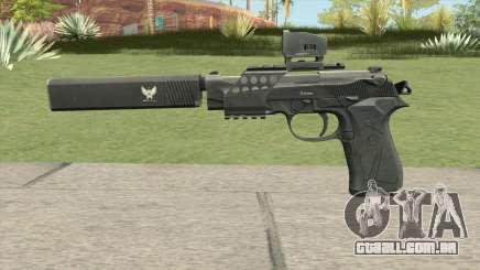 Contract Wars Beretta 92 para GTA San Andreas