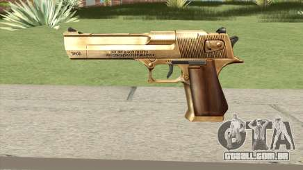 Desert Eagle Gold GTA IV para GTA San Andreas