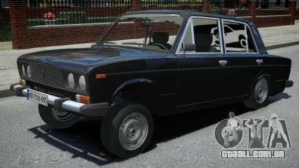 VAZ 2106 Preto para GTA 4