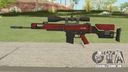 CS-GO SCAR-20 (Webs Darker Skin) para GTA San Andreas
