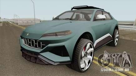 Pegassi Toros GTA V HQ para GTA San Andreas