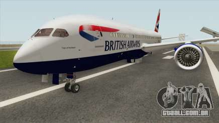 Boeing 787-8 Dreamliner (British Airlines) para GTA San Andreas