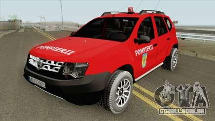 Dacia Duster Pompierii 2016 para GTA San Andreas