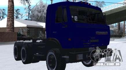 KamAZ 54115 INVERNO para GTA San Andreas
