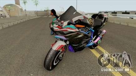 Kawasaki Ninja H2R para GTA San Andreas
