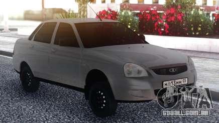 VAZ 2170 Cinza para GTA San Andreas