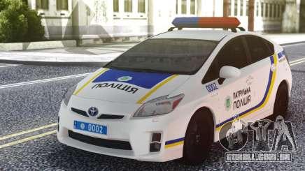 Toyota Prius Policiais Da Patrulha Da Ucrânia para GTA San Andreas